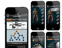 Destiny Mobile UI
