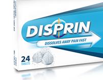 Disprin Packaging Design