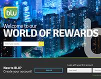 Blu Loyalty Website