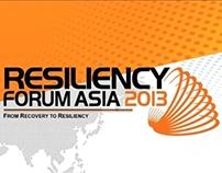 ResiliencyForumAsia Advertisments 2013