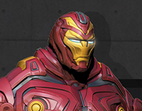Ironman Made In Asgard - Ironman Fan Art