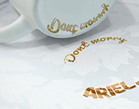 Ariel coffee cup giveaway