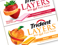 Trident Layers | New Product Packaging Design