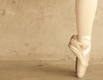 Pointes: a ballerina's portrait