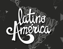 """Travel Postcards, Latino América""."