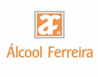 Folder Álcool Ferreira
