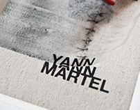 Yann Martel book covers