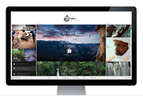 Camp4 Collective - Website & Logo Redesign