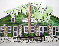 Camp Green Cove Drawings