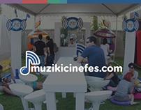 Muzikicinefes Website