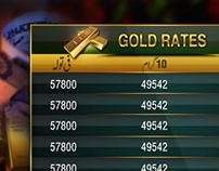 Gold and Currency Templates