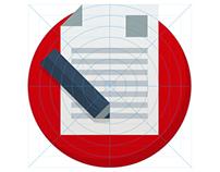 Flat Badge Design