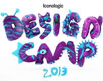 Design Camp 3d logo