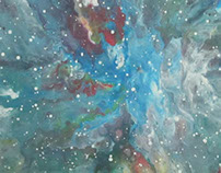Iman D. Abstrato SuperNova 40x40cm