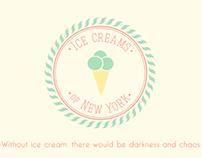 ice creams of new york [WIP]