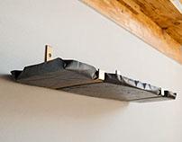 Concretediction - shelf & hanger