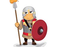 Pirius, Roman solider