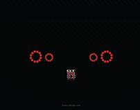 Predator alphabet or Dreamcars at night