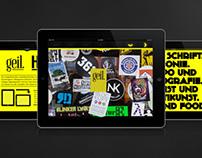 Geil // Art Magazine // I-Pad Magazine