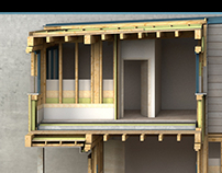 Row house project