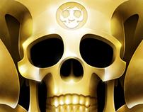 the Golden Emblem of Blackout Brother