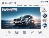 Web Site   Class Auto Dealership