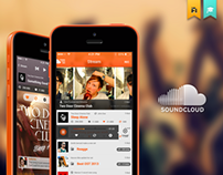 Soundcloud iOS | Redesign