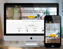 StartupTech Website Design