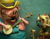 Nigel's new band