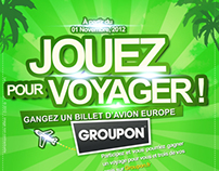 Affiche Groupon