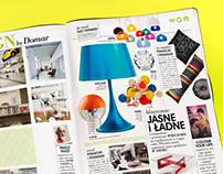 Interiors magazine design
