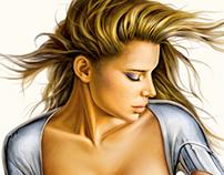 Sensual Lady 315 | Printed Tee Design