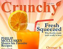 Crunchy Magazine Covers