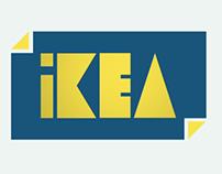 Ikea rebrand logo animation