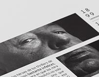 Editorial / Septième art - Programa de páginas