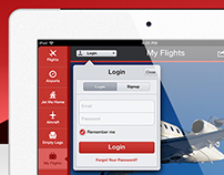 PrivateFly iPad App