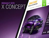 Renault site X-Concept - 2014