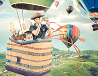 Treasure Hunting with a Flying Balloon