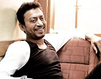 IRRFAN KHAN, ACTOR, INDIA.