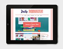 Rubbish – Blog Re-design