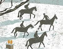 Snow on the Curragh