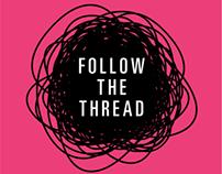 Follow the Thread Exhibition Identity