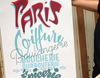 City Poster Paris