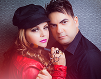 Marcos Coiffeur e Sandra Lacerda