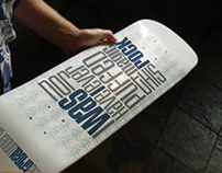 The Tribe Skate Deck graphic
