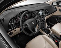 NEW SEAT LEON ST - interiors