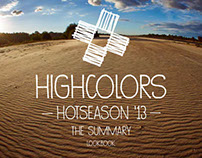 "HIGH COLORS  ""hot season 2013 "" collection"