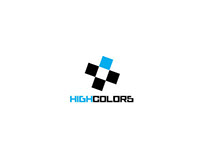 HIGH COLORS clothing - logo design