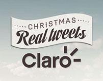 Christmas Real Tweets / Claro