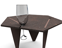 Paperstone table